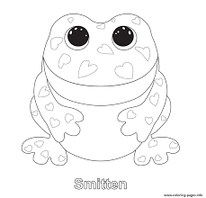 Small Picture Smitten Beanie Boo Coloring Pages Printable