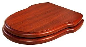 toilets cherry toilet seat replacement wooden seats bespoke solid cover red