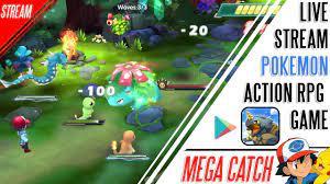 Pokemon Action RPG Mobile Game
