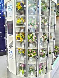 Floral Vending Machine Delectable Located In Blackfriars Tube Station Our Kiosk Is Part Retail And