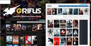 Wordpress Movie Theme Theme Grifus V4 0 6 Movies And Tv Shows Theme Free