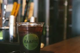 באמת נהנה זה כוס של לחלוט קר. Cartel Coffee Lab Central Phoenix Coffeehouse Tea Restaurant Phoenix New Times