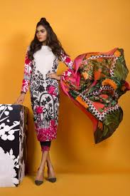 Sana Safinaz Lawn 2017 Muzlin Spring Summer Collection With Price