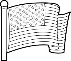 Coloriage Drapeau Tats Unis Imprimer