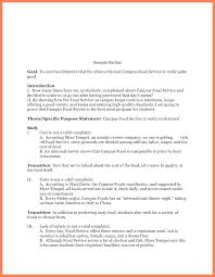 Formal Speech Outline Example Informative Sample Apa Format ...