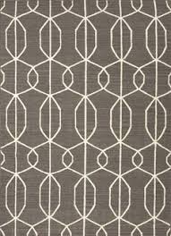 Gray rug with modern geometric pattern Free Shipping Gray Home