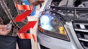 How To Upgrade Hid Xenon Headlights For Mercedes W164 Ml Class