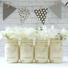 Painted Mason Jars Annie Sloan Chalk Paint Mason Jars Mason Jar Crafts Love