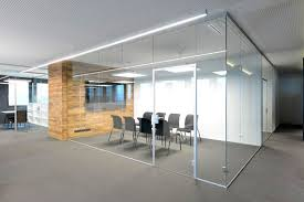 glass office wall. gallery for u003e modern office glass partitions wall