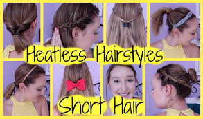 Very Easy Cute Hairstyles Super Cute Hairstyles Easy To Do Hairstyles For Short Hair
