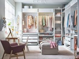 white bedroom furniture ikea.  Ikea IKEA PAX Wardrobe System And KOMPLEMENT Storage Work Together To  Create This Dream Walk Throughout White Bedroom Furniture Ikea D