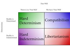 will vs determinism writework english a table comparing the views one can hold on both determinism and will