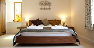 Spa Bedroom Self Catered Luxury Countryside Accommodation O Woodlands Retreats