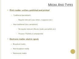 electronic media media and communication zk media