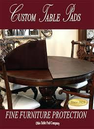 dining room pads for table. Modren Table Room Tables Impressive Dining Table Protective Pads For  Custom In I