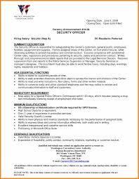 Security Officer Resume Skills Free Resume Example And Writing