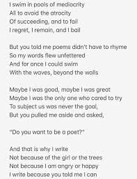 A Poem I Wrote About My First Poetry Professor He Was A