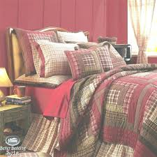 rustic country bedding country style bedding bedroom rustic red log cabin twin queen cal king quilt