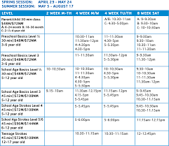 find exact schedules in our program guide join us today register