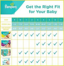 Pampers Easy Ups Size Chart Swaddlers Diapers Size Chart