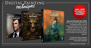 introducing our fantastic new book digital painting techniques volume 3 read or the below press release for further information including details