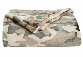 Camouflage Blankets Throws