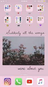 Iphone Home Screen Wallpaper Aesthetic ...