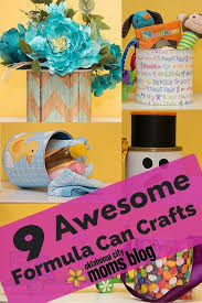 got empty formula cans take those used baby items and repurpose them into works of art with these easy diy craft ideas