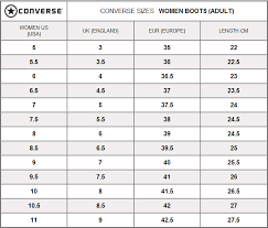 Rio X20 Montreal Shoe Size Conversion Charts Boots4all