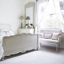 White French Inspired Bedroom