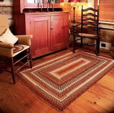 100 cotton braided rug biscotti