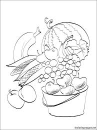 Small Picture Abundance of autumn harvest coloring page Coloring pages
