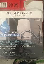 dr mercola countertop water filter system with filters new for in west palm beach fl offerup