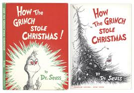 how the grinch stole christmas book cover. Simple Christmas Dr Seuss U0027u0027How The Grinch Stole Christmas In How Christmas Book Cover S