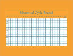 Menstrual Calendar 11 Free Samples Examples Format