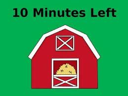 a 10 minute timer 10 minute timer farm theme by taylor jayne teachers pay teachers