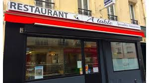 A-Table in Paris - Restaurant Reviews, Menu and Prices - TheFork