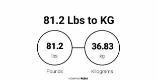 81 2 Lbs To Kg Howmanypedia Com