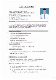 Best Solutions Of New Resume Format Doc Best Best Resume Format In
