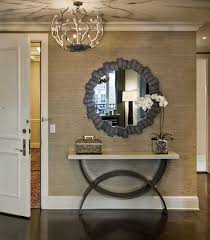 foyer furniture design ideas. entryway decorating with console table and wall mirror foyer furniture design ideas