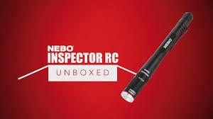 500 Lumen Pen Light Nebo Unboxed Inspector Rc 360 Lumen Rechargeable Waterproof Inspection Pen Sized Flashlight