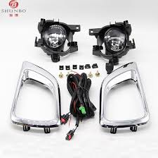 auto accessories spot fog lights lamp fit for nissan navara frontier np300 pickup 2016 2016