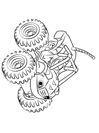 Blaze And The Monster Machines Coloring Pages Free Printable Blaze