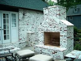 outdoor stone fireplace. Outdoor Stone Fireplace Cost Brick Painted For Decor 11 S