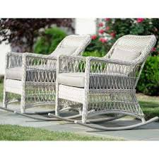 white wicker furniture. Simple Wicker Pearson Antique White Wicker Outdoor  On Furniture O