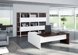 white modern office. White Modern Office Desk P