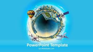 Idea City Powerpoint Template