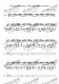 This Little Light Of Mine Sheet Music Free Download Chorale Prelude This Little Light Of Mine For Solo Instrument Organ Manuals With Pedals By Andrew Sutherland Sheet Music Pdf File To Download