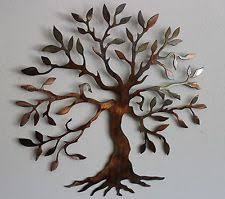 metal tree wall art sculpture uk