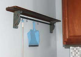 wall mount clothes rod best closet rod bracket wall mounted clothes drying rod